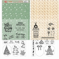 Yvonne Sweet Christmas YCMC1003 Mica Sheets