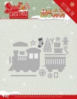 Yvonne Sweet Christmas Dies YCD10181 Train