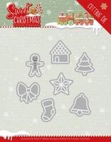 Yvonne Sweet Christmas Dies YCD10182 Cookies