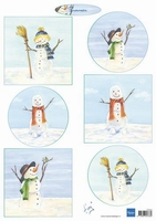 MD A4 Knipvel Tiny's IT613 Snowmen