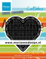 MD Craftables CR1482 Cross Stitch Heart