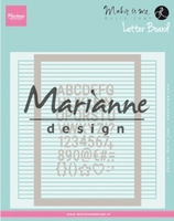 MD Design Folder DF3454 Extra Karin Joan's Letter Board