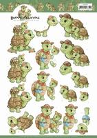 Yvonne 3D Knipvel CD11410 Turtle Mommy