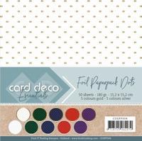 Card Deco Essentials CDEPP004 Paperpack Foil Dots