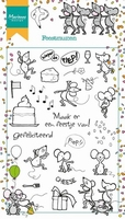 MD clear stamps HT1602 Hetty's Feestmuizen