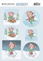 Scenery Yvonne Creations CDS10014 Lola Winter