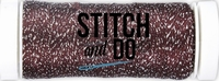 Stitch and Do Sparkles Embroidery Thread SDCDS01 Burgundy