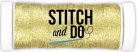 Stitch and Do Sparkles Embroidery Thread SDCDS03 Gold
