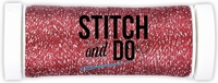 Stitch and Do Sparkles Embroidery Thread SDCDS08 Red