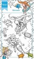 MD clear stamps HT1619 Hetty's Zeemeermin