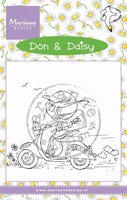 MD clear stamps Don & Daisy DDS3349 Scooting Daisy