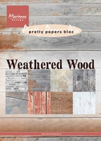 MD Pretty Papers Bloc PK9155 Weathered wood