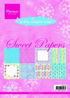 MD Pretty paper Bloc PK9065 Sweet papers