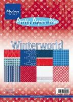 MD Pretty Paper bloc PK9077 Winterworld