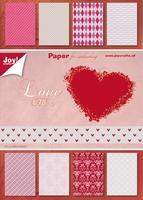 Joy! A5 Paperblok 6011-0082 Valentine