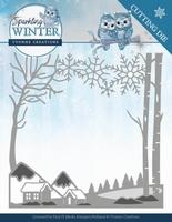 Yvonne Sparkling Winter Dies YCD10187 Winter Landscape