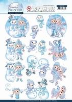 Yvonne Sparkling Winter 3D Stansvel SB10405