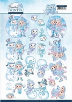 Yvonne Sparkling Winter 3D Knipvel CD11404