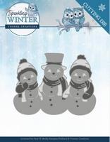 Yvonne Sparkling Winter Dies YCD10191 Sparkling Snowmen