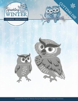 Yvonne Sparkling Winter Dies YCD10192 Winter Owls