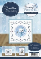 Yvonne Sparkling Winter CB10007 Creative Embroidery 7