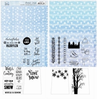 Yvonne Sparkling Winter YCMC1006 Mica Sheets