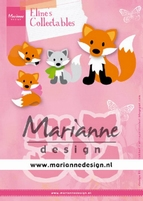 MD Collectables COL1474 Eline's Cute Fox