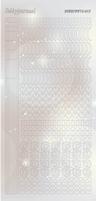 Hobbydots Sticker Pearl STDP172 Zilver