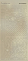 Hobbydots Sticker Pearl STDP171 Goud