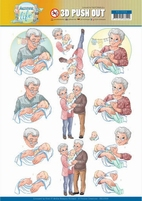 Yvonne Active Life 3D Pushout SB10399 Grandparents