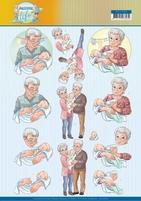 Yvonne Active Life 3D Knipvel CD11398 Grandparents