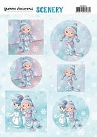 Scenery Yvonne Creations CDS10015 Lola Winterfun
