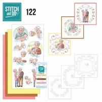 Stitch and Do borduursetje STDO122 Grandparents