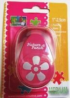 Picture punch medium 006 Flora