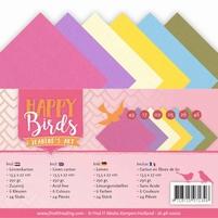 Jeanine's Art Happy Birds JA-A5-10010 Linnenpakket