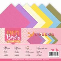 Jeanine's Art Happy Birds JA-4K-10010 Linnenpakket