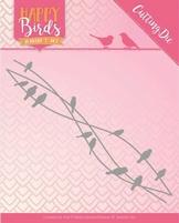 Jeanine's Art Happy Birds Dies JAD10088 Vogelvrienden