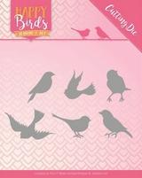 Jeanine's Art Happy Birds Dies JAD10090 Vrolijke vogels