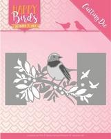 Jeanine's Art Happy Birds Dies JAD10087 Vogel omslag