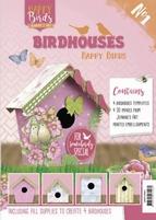 Jeanine's Art Happy Birds JAVH10001 Birdhouses