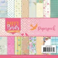 Jeanine's Art Happy Birds JAPP10013 Paperpack