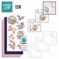 Stitch and Do borduursetje STDO124 Happy Birds
