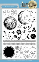 Yvonne Lilly Luna 2 LLCS10005 Clear Stamps