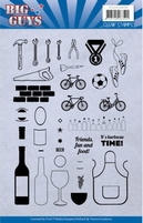 Yvonne Big Guys YCCS10050 Clear Stamps