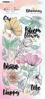 StudioLight Karin Joan Blooming RUBKJ01 Rub on Sticker