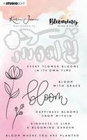 StudioLight Karin Joan Blooming BASICSDCKJ01 Stamp & Die Cut