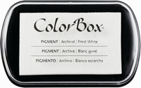 ColorBox Pigment Ink Pad 15080 Frost White
