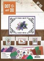 Dot and Do Book DODOA6006 Bloemen & vogels