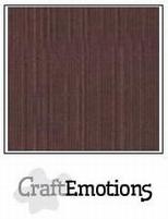 CraftEmotions A4 linnenkarton 1265 koffie