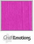 CraftEmotions A4 linnenkarton 1180 koraalmagenta